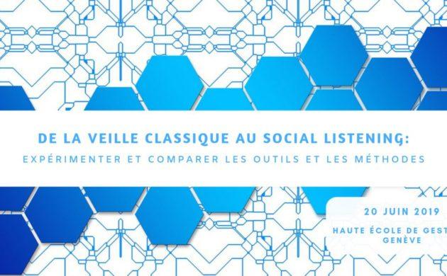 Veille classique VS veille sur les réseaux sociaux : Expérimenter et comparer les outils et les méthodes HEG-Arc – HEG-GE et Université de Franche-Comté